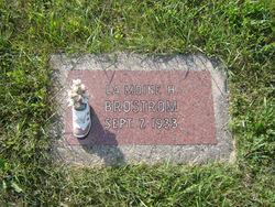 La Moine H. Brostrom