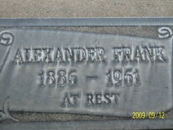 Alexander Frank