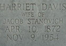 Harriet <i>Davis</i> Stanovich