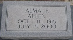 Alma Florence <i>Fortune</i> Allen