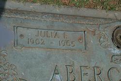 Julia F Abercrombie
