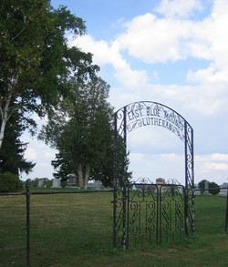 East Blue Mounds Lutheran Cemetery