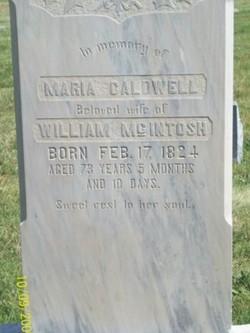Maria Caldwell Mcintosh