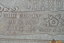Millie Magoline <i>Ebney</i> Chandler