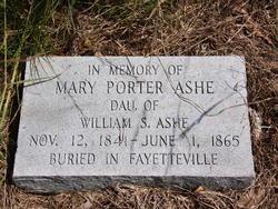 Mary Porter Ashe