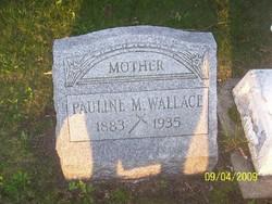 Pauline M. <i>Bradl</i> Wallace