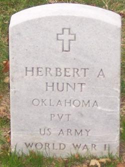 PVT Herbert A Hunt