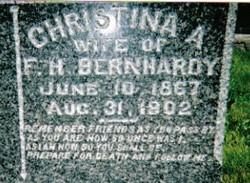 Christina A Bernhardy