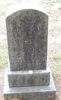 Autie Florance <i>James</i> Adams