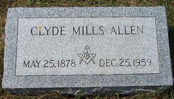 Clyde Mills Allen