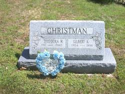 Theodora M <i>Mellott</i> Christman