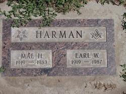 Mae Florence <i>Harvey</i> Harman