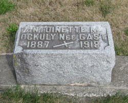 Antoinette F Mattie <i>Gast</i> Ockuly