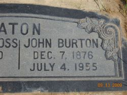John Burton Eaton