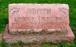 Charlotte Permelia Lottie <i>Hudson</i> Brown