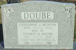 Catherine J <i>Morphy</i> Doube