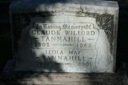 Claude Wilford Tannahill