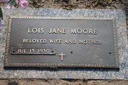 Lois Jane <i>Fulford</i> Moore