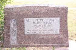 Allie Mae <i>Powers</i> Cayce