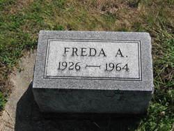 Freda A Anderson