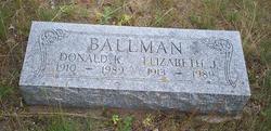 Elizabeth <i>Jerome</i> Ballman