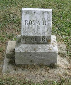 Rosa B McClure