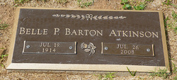 Belle P. <i>Barton</i> Atkinson