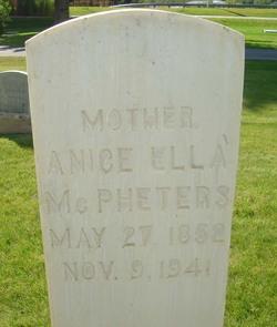 Anice Ella <i>Roberts</i> McPheters