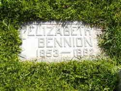 Elizabeth <i>Sharp</i> Bennion