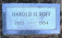 Harold O Roff