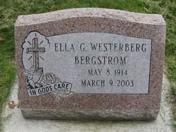 Ella G. <i>Westerberg</i> Bergstrom