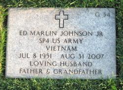 Ed Marlin Johnson