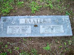 Bettie <i>Harris</i> Baxter