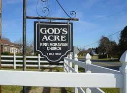 King Moravian God's Acre