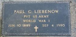 Paul G. Liebenow