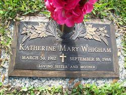Katherine Mary Whigham