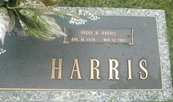 Peggy <i>Huff</i> Harris