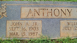 John Alston Anthony, Jr