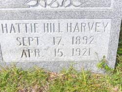 Hattie <i>Hill</i> Harvey