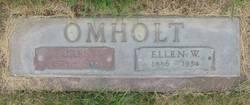 Ellen Wilhelmina <i>Johnson</i> Omholt