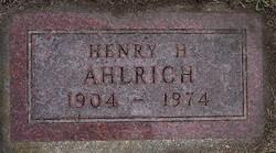 Henry Herman Ahlrich
