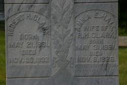 Anna E <i>Hall</i> Clark