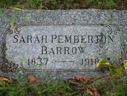 Sarah Mildred <i>Pemberton</i> Barrow