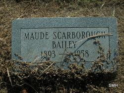 Maude <i>Scarborough</i> Bailey
