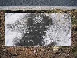 John William Browning, Sr