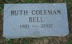 Ruth <i>Coleman</i> Bell
