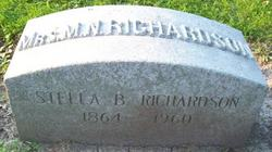 Stella <i>Burdick</i> Richardson