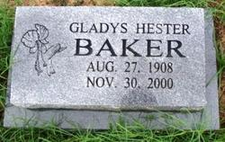 Gladys <i>Hester</i> Baker