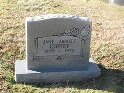 Ina Jane <i>Abbott</i> Coffey