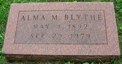 Alma May <i>White</i> Blythe